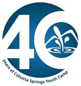 Cohutta Springs Youth Camp 40 Years logo