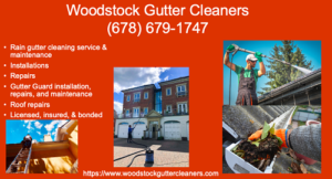 Woodstock Gutter Cleaners ad