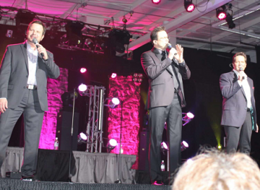 Booth Brothers on stage