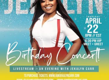 Jekalyn Carr Birthday Concert